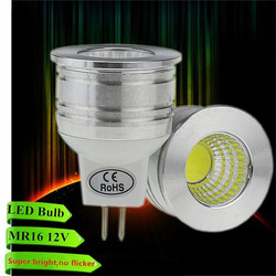 New products MR16 COB spotlights 6 W 12 V dimmable LED lamps Warm white / white energy saving LED light cups