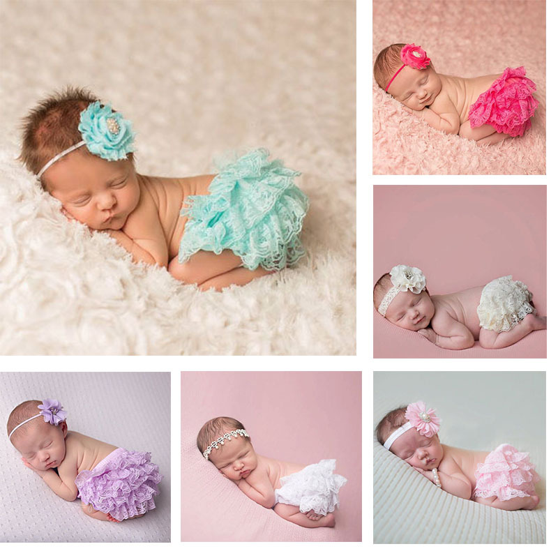 b254ccb84 Lucky Child Baby Clothing Floral Silk Bow satin shorts ruffle diaper ...