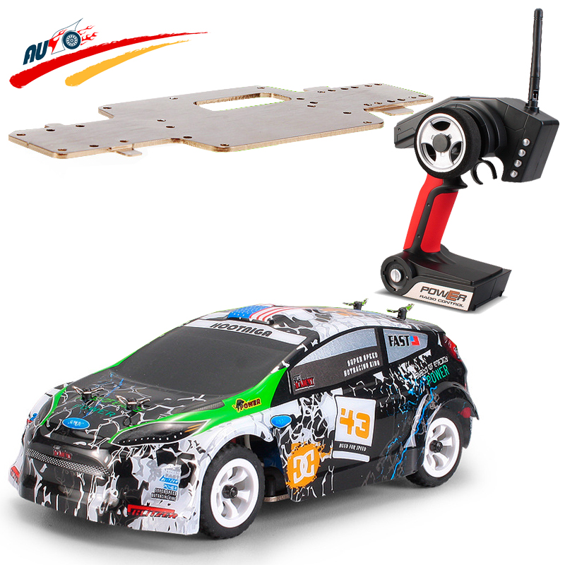 RC Car WLtoys K989 1:28 2.4G 4CH RTR Off-Road Remote Control  High-speed 30km/h Alloy Chassis Structure wltoys k969 1 28 2 4g 4wd electric rc car 30kmh rtr version high speed drift car