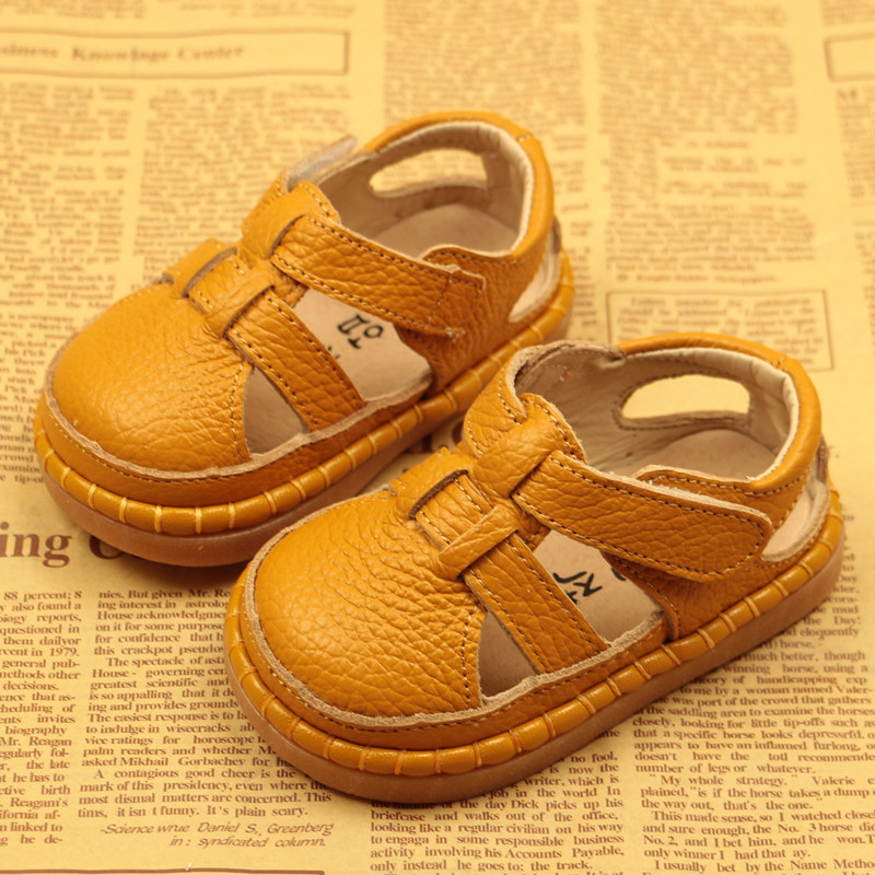 Image 2 - Summer New Baby Toddler Shoes Leather Baby Sandals Soft Bottom Boys And Girls Sandals Children Shoes Breathable 0 3 Years ShoesSandals & Clogs   -
