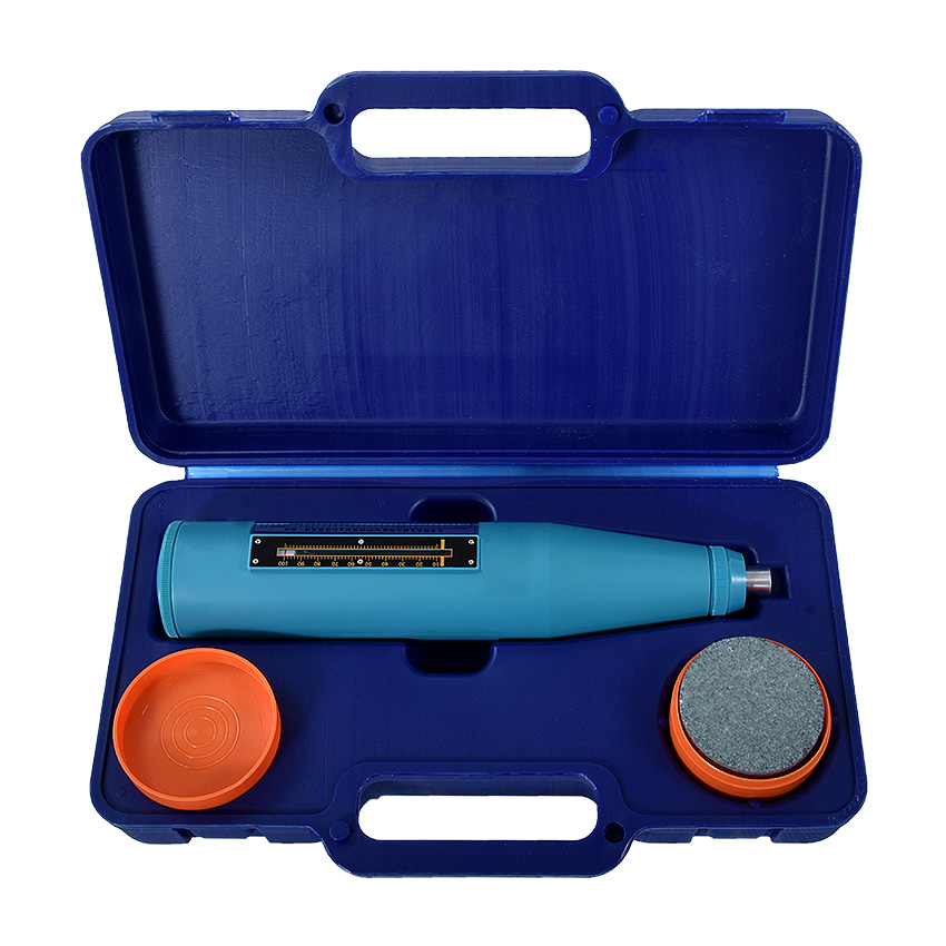 Portable Concrete Rebound Test Hammer Schmidt Hammer Testing Equipment ResiliometerHT-225B (blue Instrument Case)