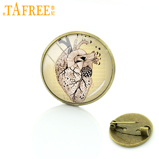 TAFREE human heart Anatomy body picture pins Anatomical heart ...