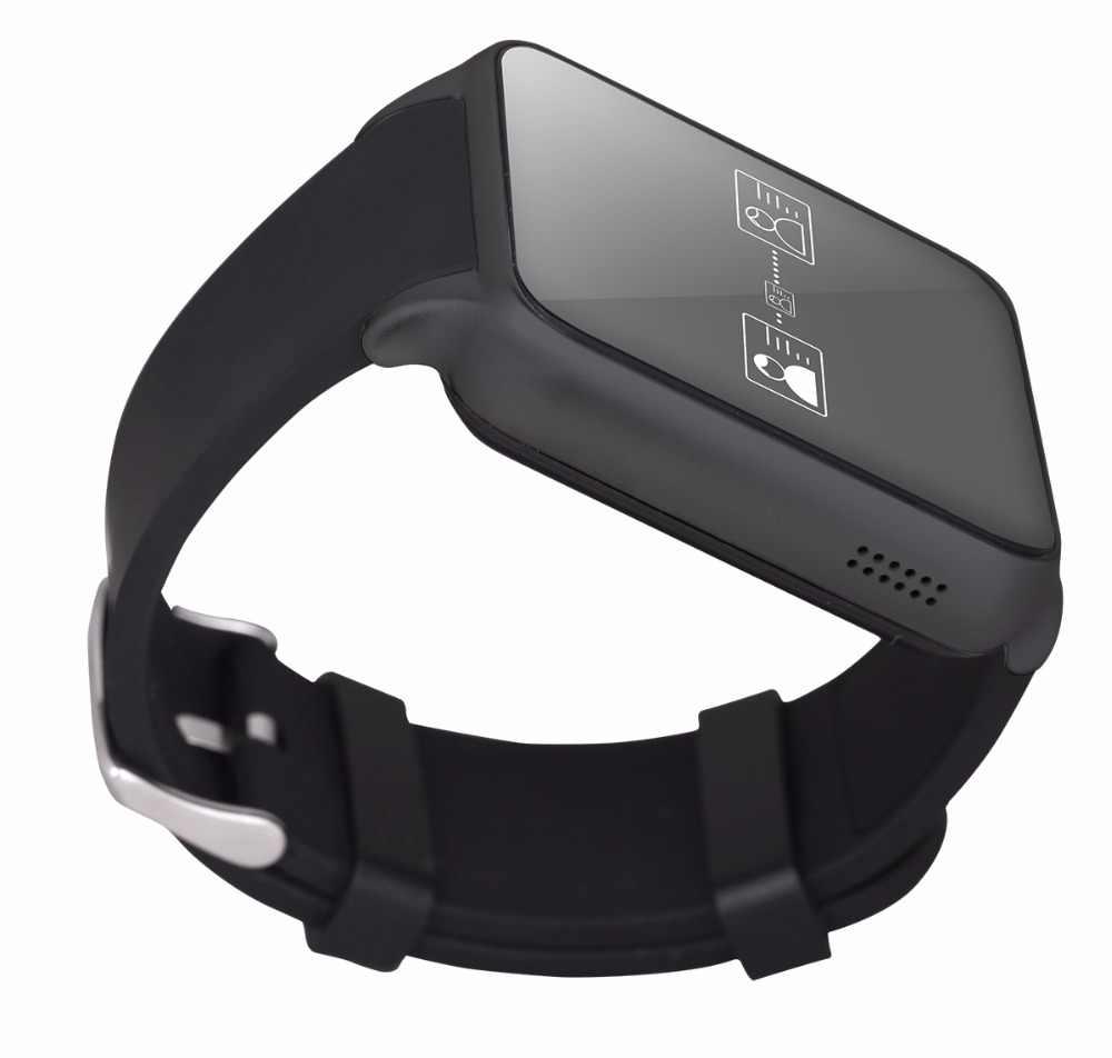 GT88 inteligentny zegarek pulsometr wsparcie śledzenia karty SIM TF Bluetooth mężczyzn Smartwatch kamera smartband dla android ios telefon