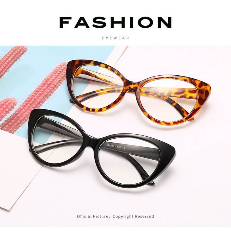 TOYEARN NEW FASHION <font><b>Brand</b></font> <font><b>Designer</b></font> <font><b>Sexy</b></font> Lady Leopard <font><b>Cat</b></font> <font><b>Eye</b></font> <font><b>Sunglasses</b></font> <font><b>Women</b></font> Vintage Plain Sun Glasses For Female Oculos de sol image