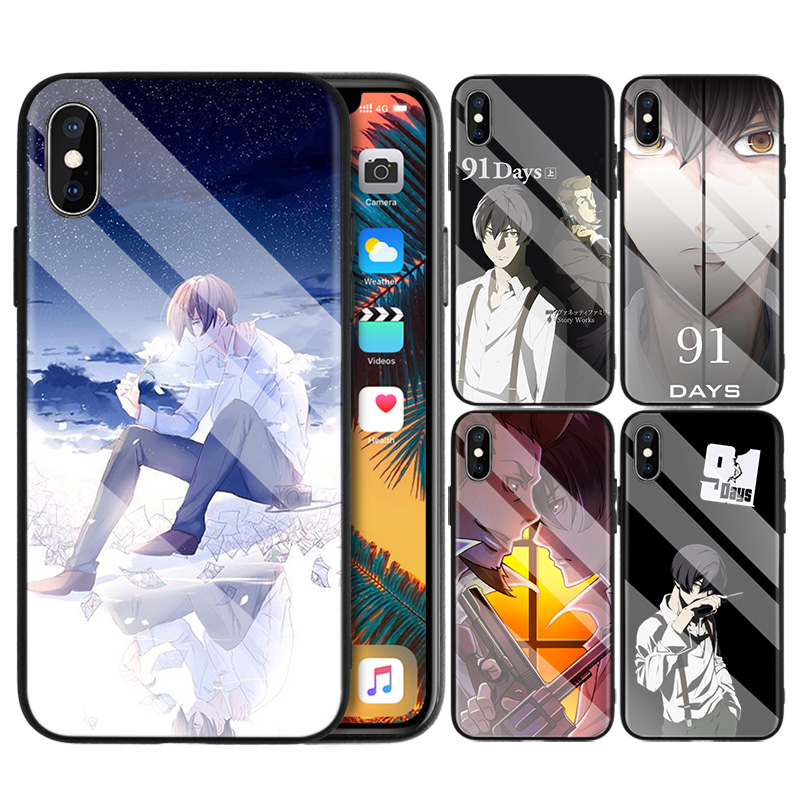 <font><b>91</b></font> <font><b>Days</b></font> Pattern Silicone Phone Case for Apple iPhone 7 8 6 6S 11 11Pro X XR XS MAX Plus 7P 6P 8P 7+ 8+ 6+ Silicone Cover Shell image
