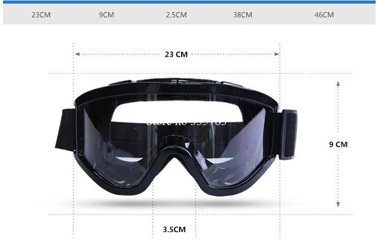 Hot Workplace Safety Supplies Eyes Protection Clear Protective Glasses Wind and Dust Anti-fog Lab Medical Use Safety Goggles 1