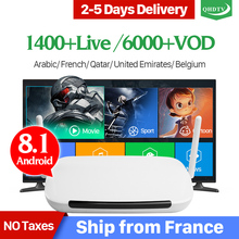 Get more info on the IPTV Subscription France IPTV Arabic Android 8.1 QHDTV IPTV Box Leadcool Q9 1+8G 2.4GHz WIFI Netherlands Belgium French IPTV Box