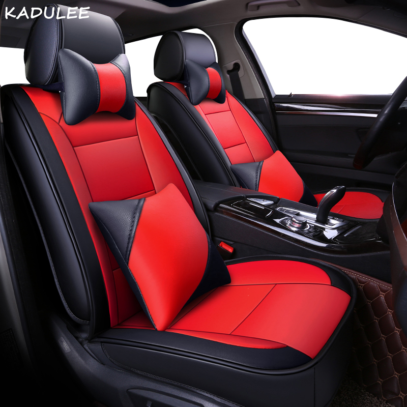 KADULEE pu leather car seat cover For LEXUS GS300 RX450h IS250 LS LX ES rx300 CT200H rx 460 rx200 accessories covers for vehicle