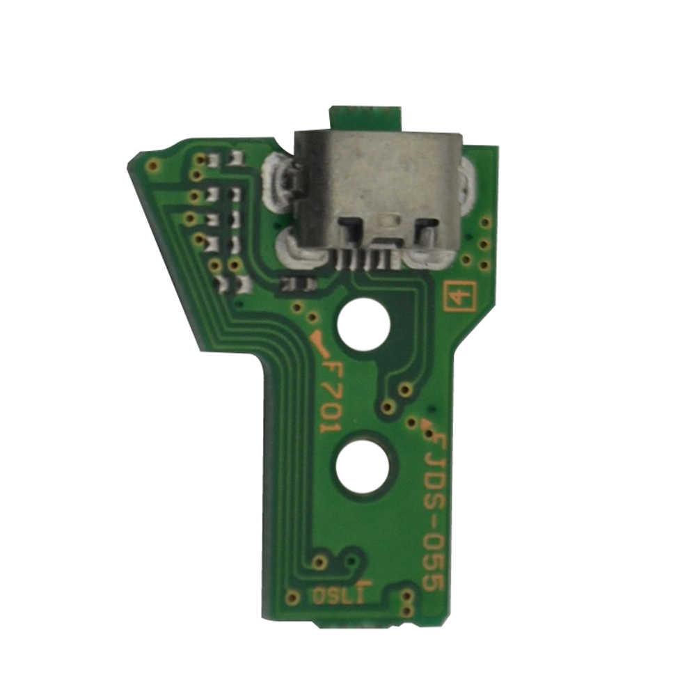 Зарядка через usb Порты и разъёмы розетка Зарядное устройство Замена материнской платы Ремонт Запчасти для PS4 контроллер JDS-050 5,0 011 001 030 040