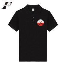 LUCKYFRIDAYF Pink Floyd The Wall  man polo shirt fitness cotton 2017 hip hop men/women summer short sleeve clothes 4XL plus size