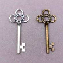 4pcs wholesale metal alloy charms  Key Charms  Key pendant  for diy fashion jewelry 30pcs wholesale metal alloy vintage wrench tool charms for diy fashion jewelry