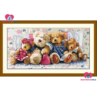 59cm*30cm beads embroidery Accurate printed Cubs full beadwork home decor crafts needlework craft home decoration new 2015
