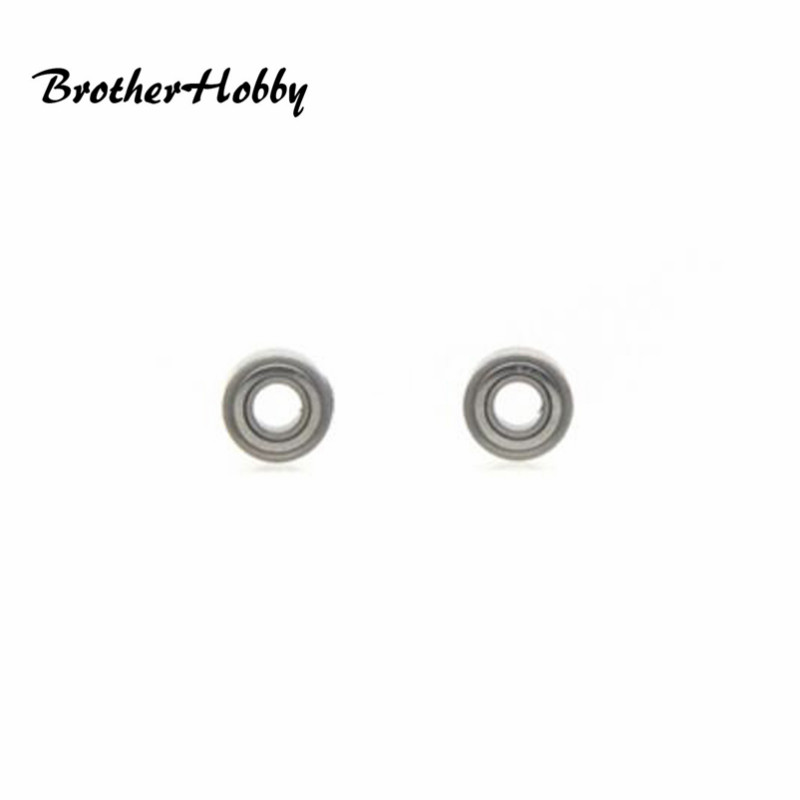2 PCS Brotherhobby EZO 8X4X3mm 9X4X4mm Ball Bearings for RC Drone FPV Racing DIY Multirotor Spare Parts Best Deal Accs