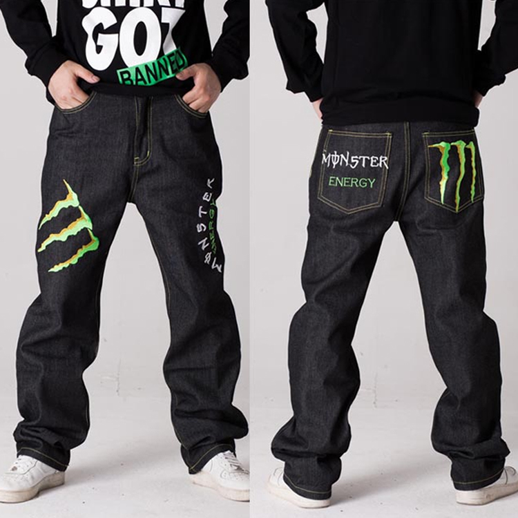 Men's Clothing Energetic Fashion Vintage Mens Ripped Jeans Pants Slim Fit Distressed Hip Hop Denim Pants Men Blue Stretch Jeans Pants With Hole 44-54
