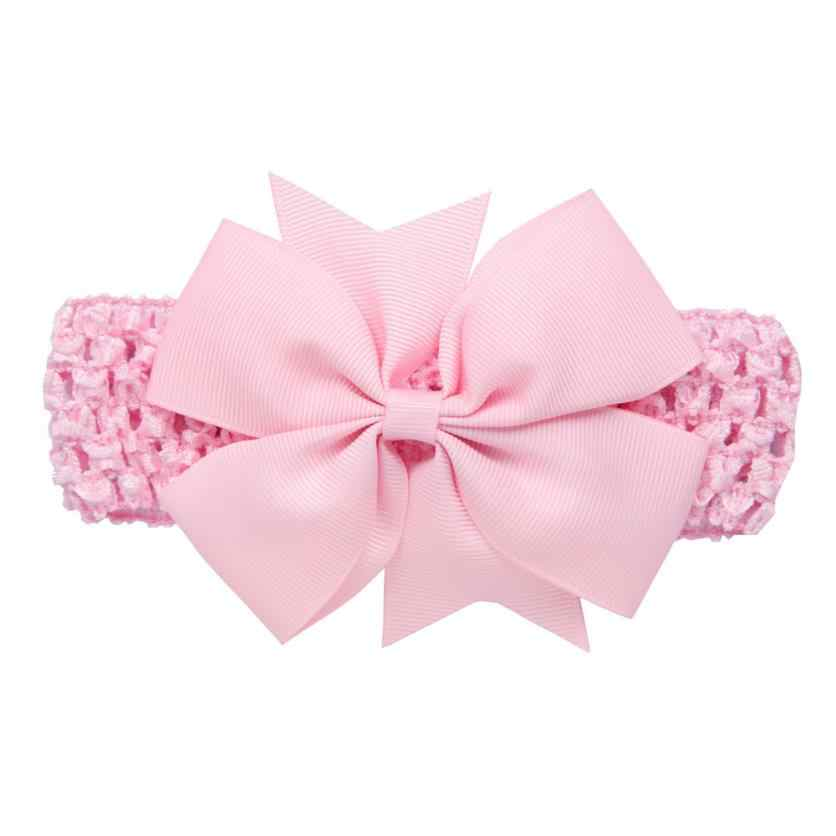 TELOTUNY 2019 Girls  Headbands Bowknot  Hair Accessories For Girls Infant Hair Band For Girls Headwear JAN30