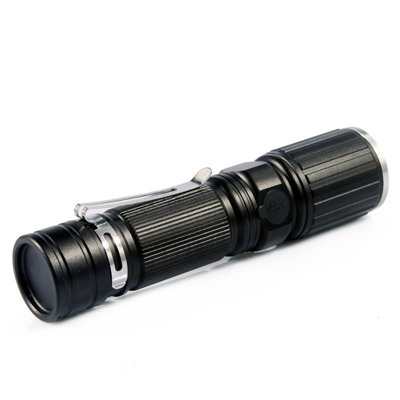 Flashlight on Bicycle Cycling Bike Head Front Light Bicycle Light Flashlight 18650 Battery+USB Rechargeable+Side Red LED Lights jetbeam bc40gt flashlight searchlight 2750lm xhp50 led cycling bicycle bike front head light outdoor camping accessory m25