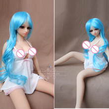 Anime Real Silicone Sex Dolls 65cm Skeleton Mini Realistic Ass Vagina Lifelike Real Love Male Adult Silicone Sex Doll