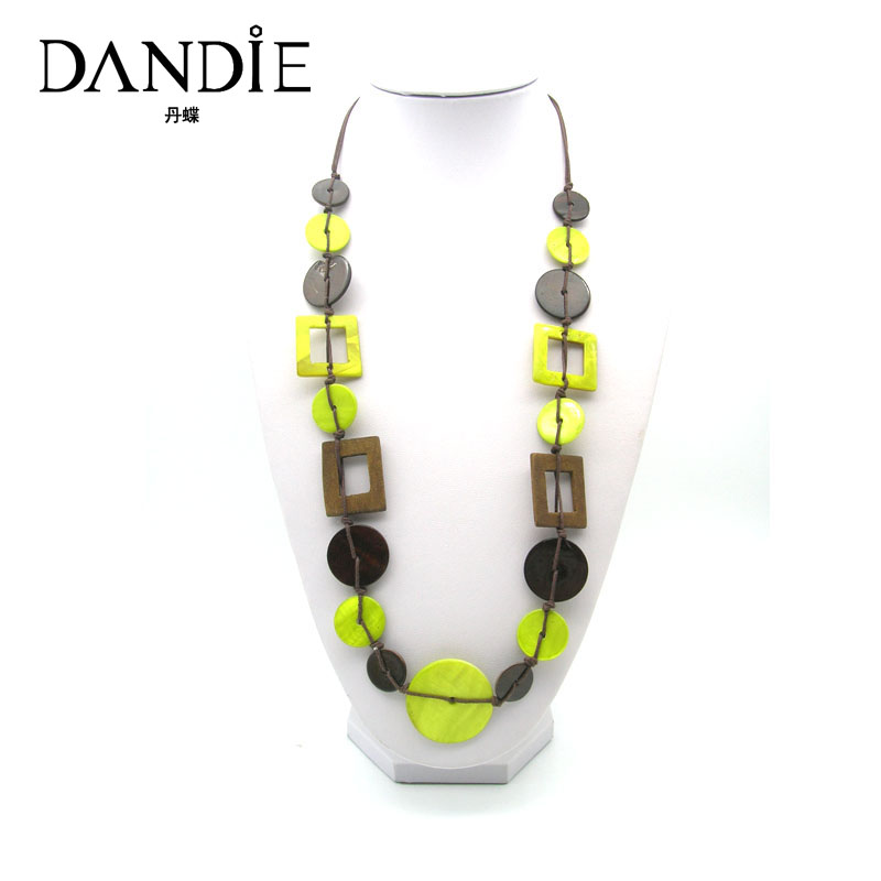 Dandie Fashion Two Different Styles Shell Neckalce,Fit For Summer Wear