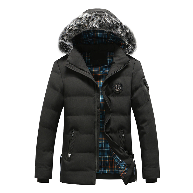 Bolubao Men Winter Jacket Coats Brand New Thick Cotton Padded Hoody Detachable Casual Outerwear Male Fur Hooded Down Parkas new men winter jacket fashion brand clothing cotton padded down parka male thick warm comfortable outerwear coat hood detachable