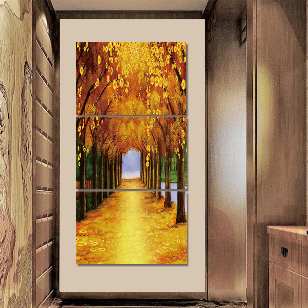 Unframed Canvas Painting Fenglin Trail Wall Art Decor Prints Wall Pictures For Living Room Wall Art Decoration 2018 Dropshipping