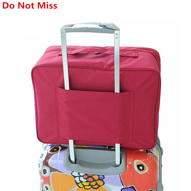 Imballaggio Cubi delle Donne Borse Da Viaggio Bagaglio A Mano Viaggio di  Grande Capienza Impermeabile Borsa 808d7511b46