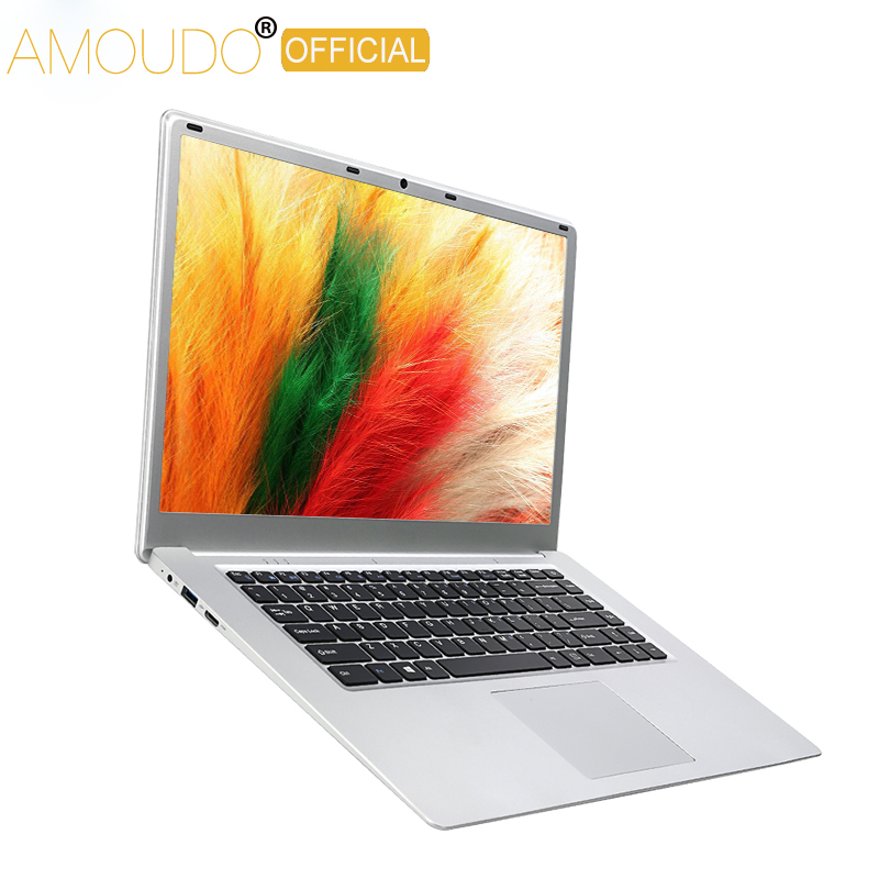 15.6 polegada 8 GB de RAM + 360 GB SSD Intel Apollo Lago J3455 Quad Core CPU Windows 10 Sistema 1920x1080 P FHD Notebook Computador Portátil