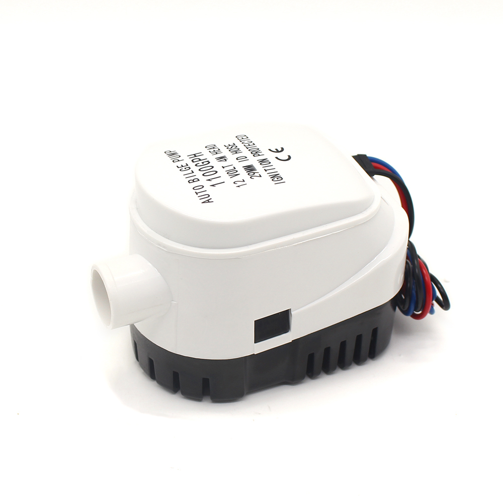 FREE SHIPPING 1100gph Automatic mini electric boat bilge water pump 12V 24V AUTO small 1100 gph 12 24 v volt pressure submerse free shipping high pressure 2000gph boat bilge pump 24v bilge pump 24 v dc 12v kayak rule water electric 2000 gph 12 volt