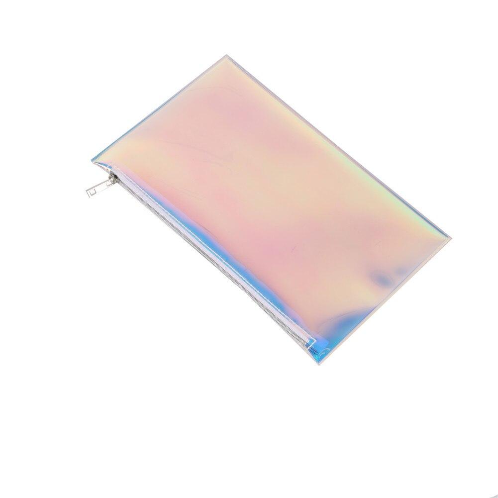 Pcs Fermeture Make Dezemin Avec up 25 Pouch Cosmétique Sac Éclair Transparent SdpzwqH
