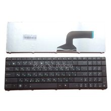 Teclado russa para Asus N53 X53 X54H k53 A53 N60 N61 N71 N73S N73J P52 P52F P53S X53S A52J X55V X54HR X54HY N53T laptop RU