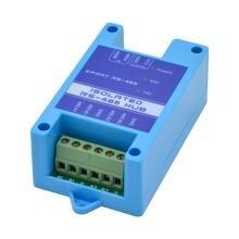 485 tekrarlayıcı fotoelektrik izolasyon endüstriyel sınıf RS485 hub 2 port sinyal amplifikatörü anti sıkışma yıldırım koruması