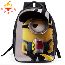 infants little one cartoon Bag Despicable Me Minions Backpack for Toddler Boys & Girl youngsters kindergarten nursery schoolbag cute