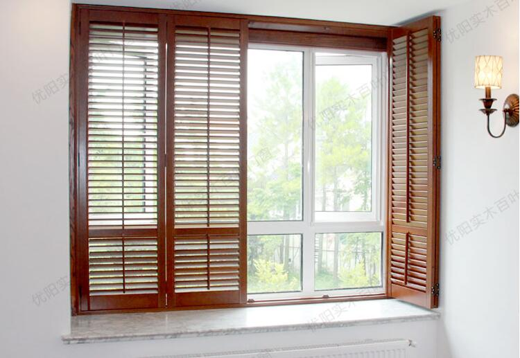 made to measure china timber plantation shutters