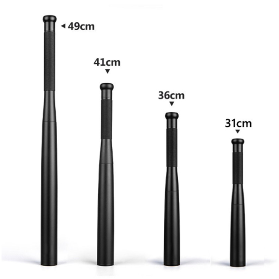 HotSelf Defense Baseball Flashlight Stick Outdoors Emergency Personal Defense Supplies Extended Baseball Bat Anti Riot Equipment
