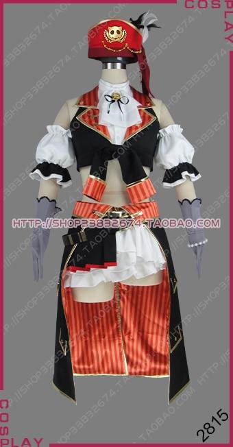Aime Vivre! École idole Festival carte Pirates Ver. Post-idolisation Maki Nishikino robe Costume Cosplay S002