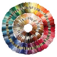 You can choose any colors and quantity simliar DMC Embroidery Thread Floss Cross Stitch Cotton Thread 447