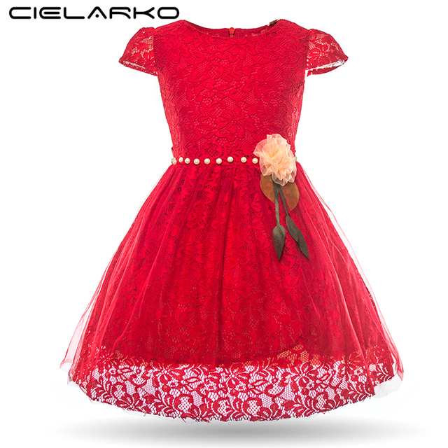 dresses for girls Short red
