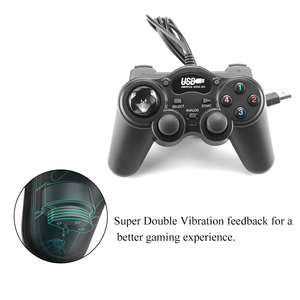 Image 4 - USB 2.0 Gamepad Controller Joystick Wired Joypad Super Double Vibration 850 For PC Laptop Computer Or Win7/8/10 XP/For Vista