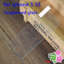 For iphone5 Tempered Glass Screen Protector Film For Apple iphone 5 5S 5C SE Anti Shatter