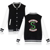 BTS Winter Jacket American TV Riverdale Women Fashion Jacket South Side Mens Female Fans Casual Baseball