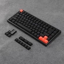 YMDK ABS ANSI ISO Side lit Top lit 1.5mm Thickness Shine Through Keycap Only Keyset For YMD75 KBD75 Keycool 84 KBD67 XD64 GK64