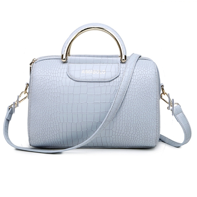 New Arrival Elegant Women Bag Pillow Bag Women Handbags Famous Brand Large Messenger Shoulder Bags Tote Crocodile Grain