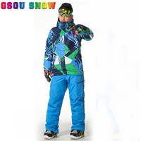 Gsou Snow Winter Ski Pants For Men Trousers Sports Pants Many Colour Snowboard Sport Trousers