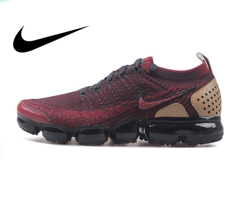 Original Authentic Nike Air Vapormax Flyknit Mens Running Shoes Sneakers Breathable Sports Outdoor Brand Designer 942842Original Authentic Nike Air Vapormax Flyknit Mens Running Shoes Sneakers Breathable Sports Outdoor Brand Designer 942842
