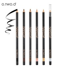 O.TWO.O  6pcs Eyes Makeup Eye Brow Pencil For Enhancer 100% Waterproof Eye liner Pencil Eyebrow 6 Colors Wooden Pencil Brow
