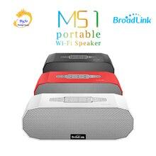 BroadLink MS1 kablosuz Mini akıllı hoparlör taşınabilir akıllı ev hoparlörler sistemi mıknatıs Stereo çift pasif radyatör