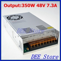 Led Driver 350W 48V 7 3A Single Output Ac 110v 220v To Dc 48v Switching Power