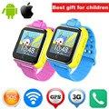 Crianças gps smart watch jm13 3g wi-fi smartwatch sos localização lbs pedômetro Rastreador Com Câmera Para Android IOS Telefone PK Q50 Q90