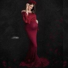 Haut en dentelle accessoires de photographie de maternité