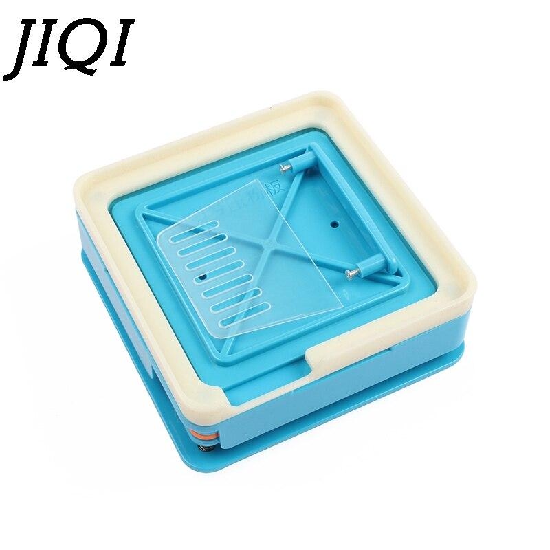 JIQI 100 Holes Manual Capsule Filling Machine #0 Pharmaceutical Capsules Maker For DIY Medicine Herbal Pill Powder Filler Size 0