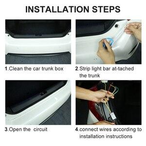 Image 5 - Luz de parada adicional dinâmica streamer flutuante led cauda do carro tronco bagageira tira dinâmica streamer turn signal lâmpada